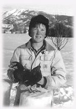 "Ethan Kamerman, 12, with his rooster named ""Roosty."""